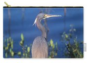 Tricolored Heron In Monet Like Setting Carry-all Pouch