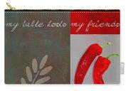 Trilioli Kitchen Decor - Red 153z Carry-all Pouch