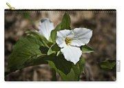 Trillium Grandiflorum Carry-all Pouch