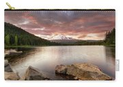 Trillium Lake Sunset Carry-all Pouch