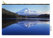 Trillium Lake With Reflection Of Mount Carry-all Pouch