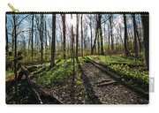 Trillium Trail Carry-all Pouch by Matt Molloy