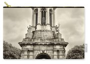 Trinity College Arch - Dublin Ieland - Sepia Carry-all Pouch