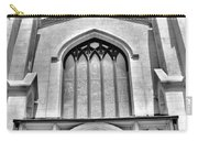 Trinity Episcopal Cathedral Black And White Carry-all Pouch