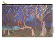 Trinity Tree By Moonlight Carry-all Pouch