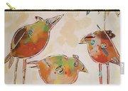 Trio Birds Carry-all Pouch