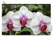 Trio Of Beautiful Flowers Carry-all Pouch