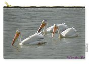 Trio Pelicans Carry-all Pouch