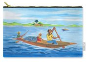 Trip To Lake Kivu In Congo Carry-all Pouch