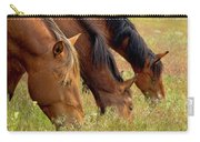 Triple Mustang Treat Carry-all Pouch
