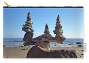 Triple Stack On Driftwood Carry-all Pouch