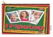 Tripoley Board Game Painting Carry-all Pouch
