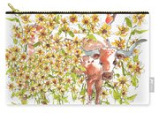 Trivia Too A Texas Longhorn Sunflowers Lh072 Carry-all Pouch