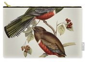 Trogon Collaris Carry-all Pouch by John Gould