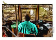 Trolley Driver In New Orleans Carry-all Pouch