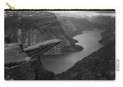 Trolltunga In Morning Light Carry-all Pouch