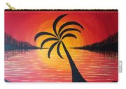 Tropic Of Palms Carry-all Pouch