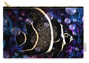 Tropical Angel Fish Carry-all Pouch