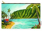 Tropical Beach #361 Carry-all Pouch