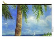 Tropical Beach One Carry-all Pouch