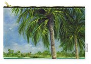 Tropical Beach Two Carry-all Pouch
