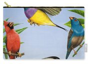 Tropical Birds Carry-all Pouch by RB Davis