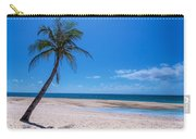 Tropical Blue Skies And White Sand Beaches Carry-all Pouch