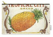 Tropical City Pineapple Carry-all Pouch