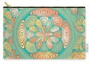 Tropical Color Abstract Carry-all Pouch