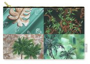 Tropical Dance Square By Madart Carry-all Pouch