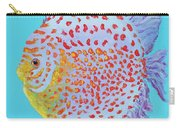 Tropical Discus Fish With Red Spots Carry-all Pouch