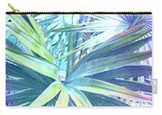 Tropical Dreams In Pastel Purple-blue Carry-all Pouch