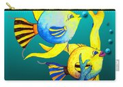 Tropical Fish Fun Carry-all Pouch