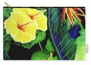 Tropical Flower Arrangement #251 Carry-all Pouch