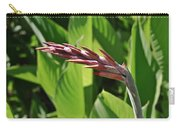 Tropical Flower Buds Carry-all Pouch