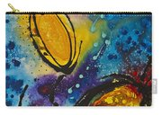 Tropical Flower Fish Carry-all Pouch by Sharon Cummings