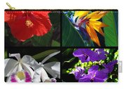 Tropical Flowers Multiples Carry-all Pouch