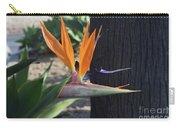 Tropical Garden Photo Of A Bird Of Paradise  Carry-all Pouch