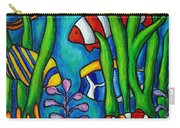 Tropical Gems Carry-all Pouch by Lisa  Lorenz