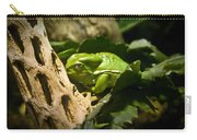 Tropical Green Frog Carry-all Pouch