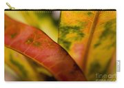 Tropical Leaf Abstract Carry-all Pouch