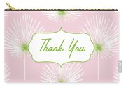 Tropical Leaf Thank You- Art By Linda Woods Carry-all Pouch