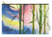 Tropical Moonlight And Bamboo Carry-all Pouch