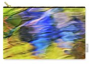 Tropical Mosaic Abstract Art Carry-all Pouch