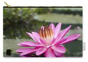 Tropical Night Flowering Water Lily Rose De Noche II Carry-all Pouch