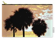 Tropical Palms Work Number Four Carry-all Pouch