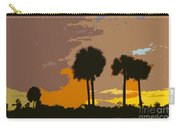 Tropical Palms Work Number Three Carry-all Pouch