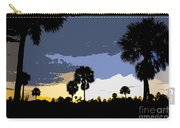 Tropical Palms Work Number Two Carry-all Pouch