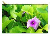 Tropical Rosewood In Hiding Carry-all Pouch