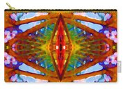 Tropical Stained Glass Carry-all Pouch